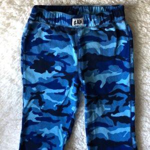 Gap boys camouflage fleece pajama pants